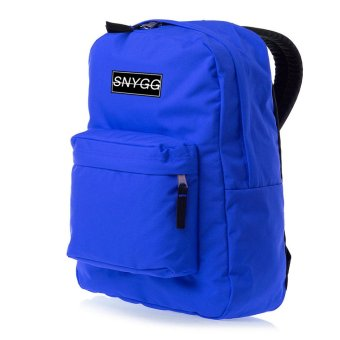 SNYGG Solid Backpack (Royal Blue)
