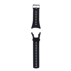 Soft Black Rubber Replacement Watch Band Strap For Suunto Ambit 3 Peak/ambi - Intl By Unique Amanda.