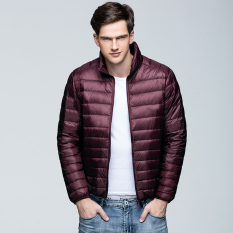 5aa0e15589c 2018 Spring And Autumn New Style Lightweight down Jacket man Stand Collar  Slim Fit Short down