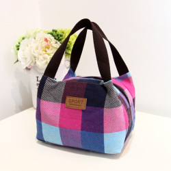Women's canvas hand bags