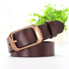 c77f3dc30 Street Fashion Women's Belts Genuine Leather antique bronze Buckle Brand  Waist Strap Female Waistband Buckles Fancy