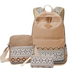 0215619c147d PHP 1.449. SUNBORLS Brand Vintage School bag for Teenage Girls Kids Bag  Bagpack Children Canvas Backpacks Dot Shoulder ...
