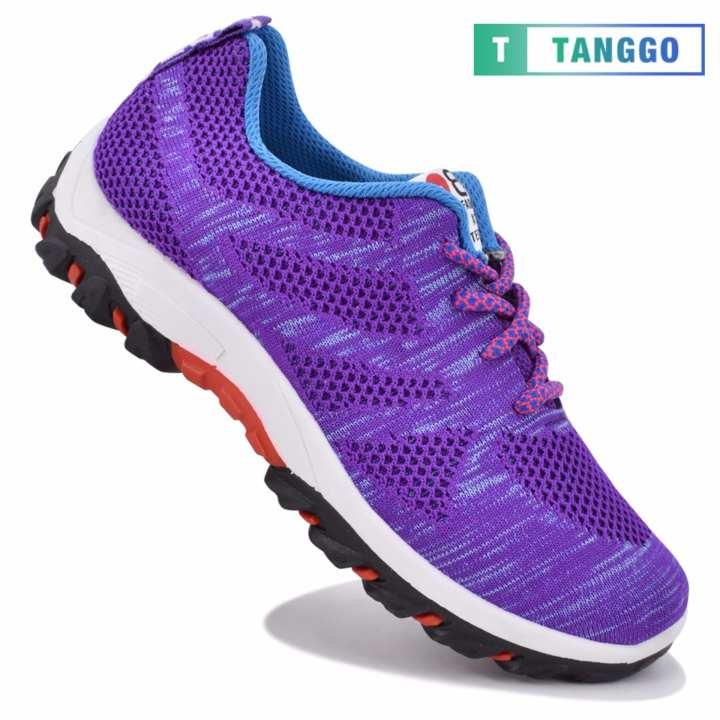 Tanggo M81 Fashion Sneakers Women's Rubber Shoes (violet)