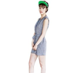 Ten Percent Annabelle Dress (Blue Gray)