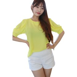 Ten Percent Vanessa Blouse (Yellow)