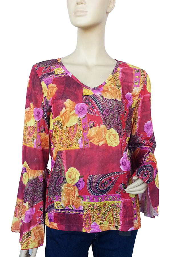 Terrie Amana Blouse (Red)