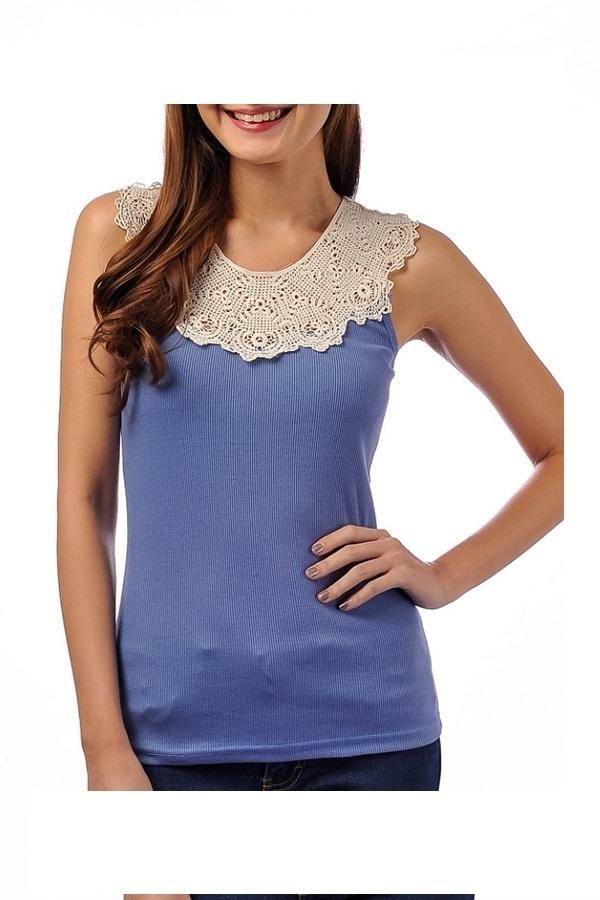 Terrie Celina Sleeveless (Blue)