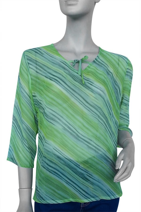 Terrie Trixie Blouse (Green)