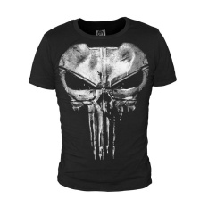 e86674324aba71 The Punisher Skull Ghost Black Men T-shirt Shirt Tops Sports Casual Cotton Tops  Cosplay