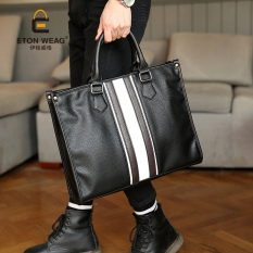 92e495e53a Tidog British business handbag men s bags leisure shoulder briefcase tide  restoring ancient ways men s bags -