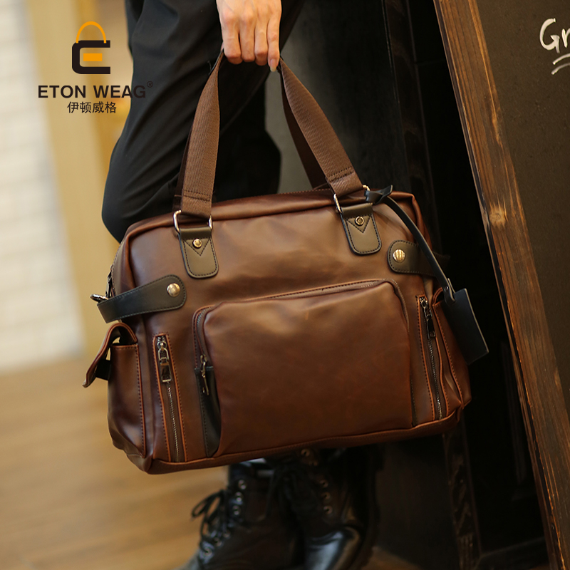 Tidog Male package bag men cross shoulder bag computer bag