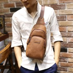 Tidog New men s chest pack male Satchel Bag casual bag man Koreancurrent  male fashion bag - 354cac65e4cf2