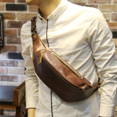 Tidog New men s chest pack personality fashion summer Bag ShoulderBag Messenger  Bag - intl 8ffa444acf103