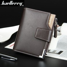 TP Big Capacity Wallet Leather Vertical Leather Creditcard Holder With Zipper-129-2 (