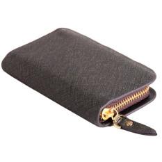 TP Fashion Leather Men Zipper Wallet Multifunctioncard Bag Light Blue - intl