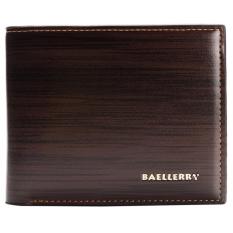 TP Good Fashion Bright Pu Leather Id Credit Card Holderwallet Men Wallets - intl