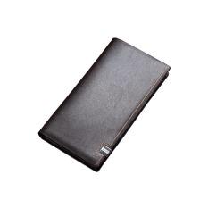 TP Male Genuine Cowhide Leather Brief Short Design Men'swallets Card Holder Wallet Purses (