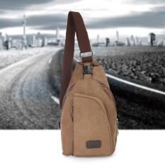 fb868995c1 ... Travel Canvas Sport Rucksack Camping School Satchel Hiking Chest Bag  Backpack m Coffee - intl more ...