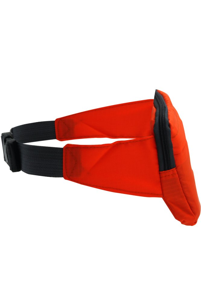 Travel Pouch Hidden Compact Security Money Waist Belt Bag (Orange) product preview, discount at cheapest price