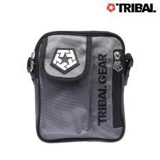 Tribal Men S Star Stencil Block Sling Bag Charcoal