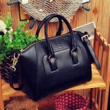 7b1a506618 UINN Leather Women Messenger Handbags Single Shoulder Bags black - Intl