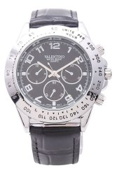 Valentino Men's Watch 20121650 (Black Silver/Black Dial