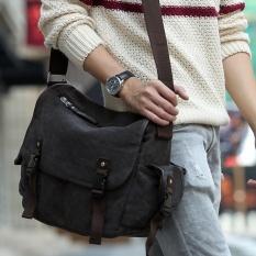 d49cba7299 VATICLEY men bag Korean-style casual canvas shoulder messenger college  students school bags mens diagonal