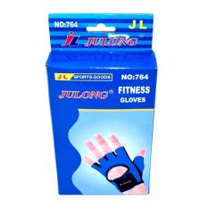Verygood Julong Mt-764 Fitness Gloves (blue/black)for Bicycle Motorcycle Sport Fitness By Ph_store.