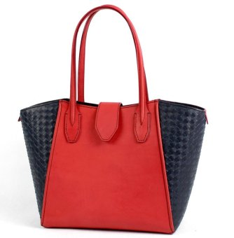 Vizcarra SOFIE Shoulder Bag (Black/Red)