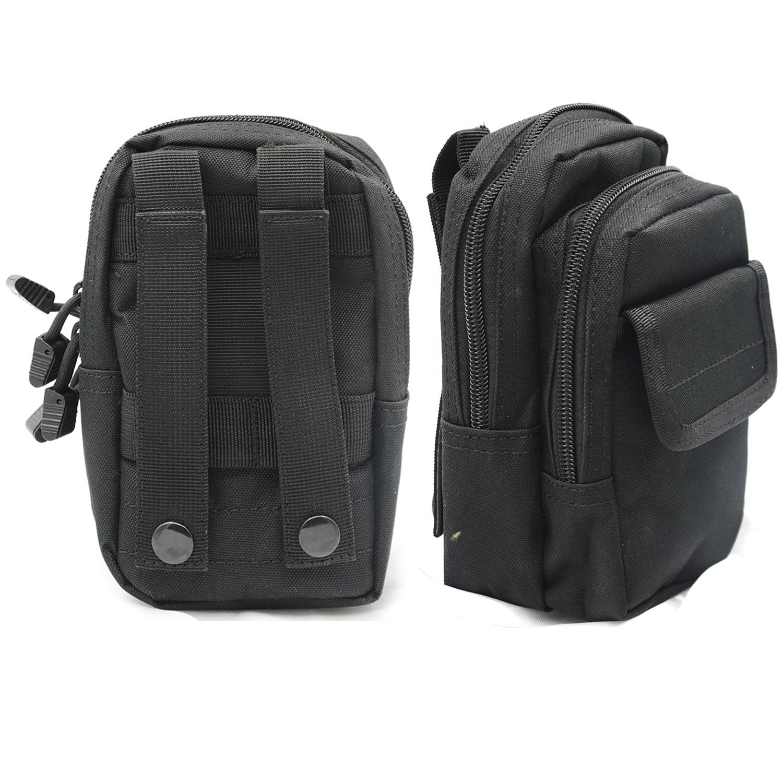 Vococal Portable Multifunctional Waist Bag (Black) - thumbnail