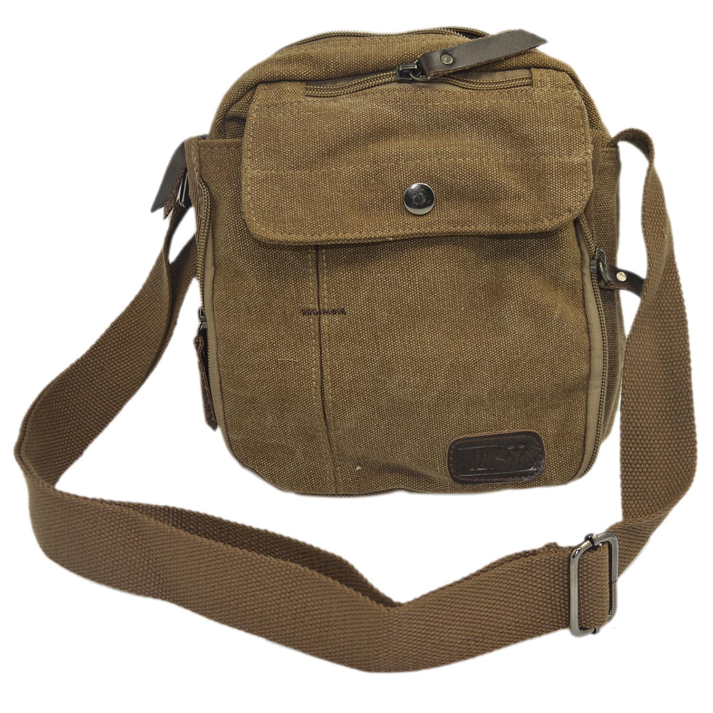 Vococal Practical Multiple Pockets Bag (Brown) - thumbnail