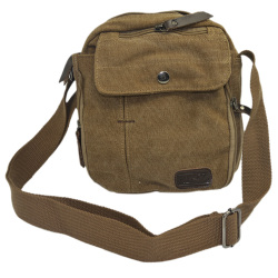 Vococal Practical Multiple Pockets Bag (Brown)