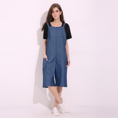 2b44d3bc9b0 VONDA 2018 Summer Casual Loose Rompers Womens Jumpsuits Maternity Clothings Pregnant  Pants Plus Size Pregnancy Trousers