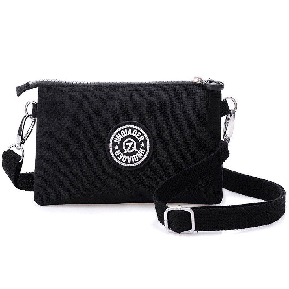 Waterproof Nylon Handbag Shoulder Diagonal Bag Messenger Black product preview, discount at cheapest price