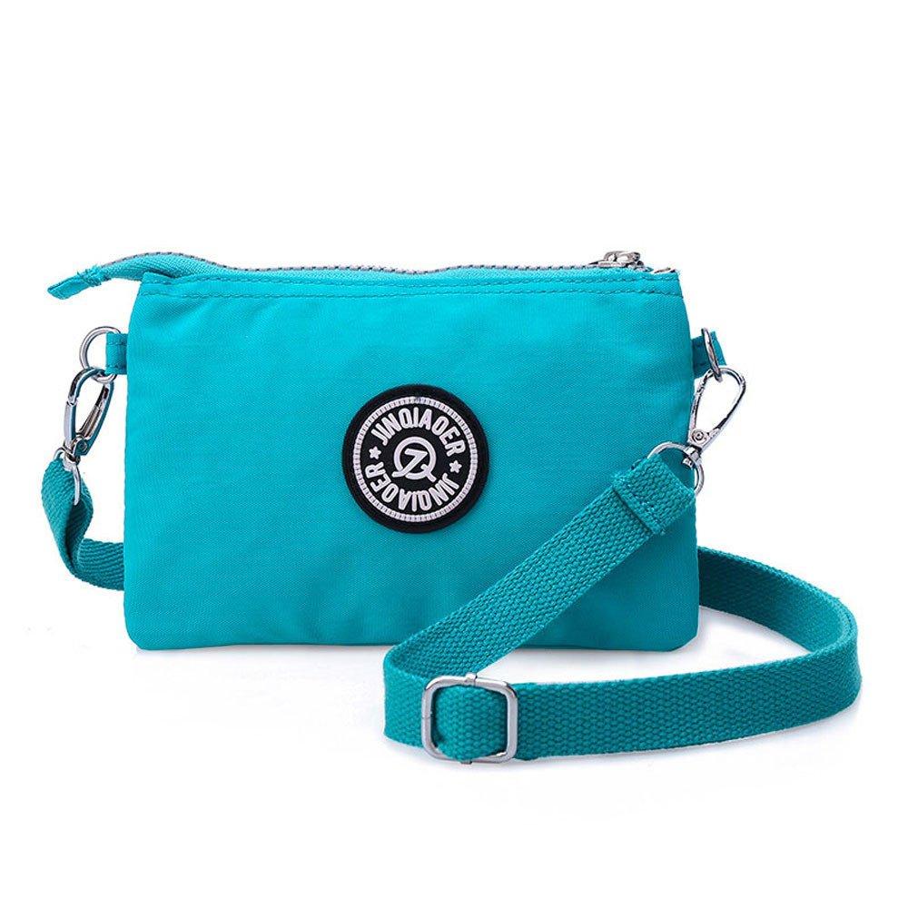 Waterproof Nylon Handbag Shoulder Diagonal Bag Messenger Sky Blue product preview, discount at cheapest price