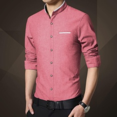 4fa88dd6777 Weargen Casual Social Formal shirt Men long Sleeve Shirt Business Slim Fit  Office Shirt male Cotton