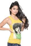 Weiying Lovely Lady Print 8601 Multi-Way Sleeveless Tunic (Yellow) - thumbnail 1