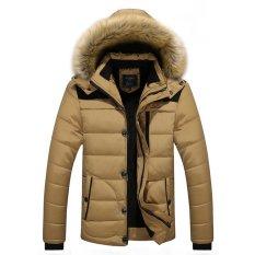 beb2cdb75663c Winter Jacket Men Casual Cotton Thick Warm Coat Men's Outwear Parka Plus  size 5XL Coats Windbreak