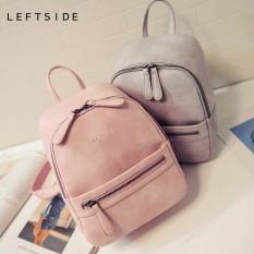 3cd0ee2ac2 Women Backpack New Fashion Casual PU Leather Female feminine backpack for teenage  girls school bag solid