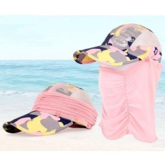 0e03fa8ce81 Women Girl Men 360 Degree UV Protection Sun block Hat Foldable Cap Mesh  Bucket for Outdoor