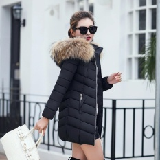 2d23d104edb PHP 1.848. Women Korean Long Winter Jacket Slim Female Coat Thicken Parka  Down Cotton Clothing Hooded ...