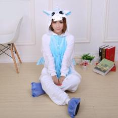 b4471f018c Yika Unicorn Adult Unisex Pajamas Cosplay Costume Onesie Sleepwear S-XL  (Blue)