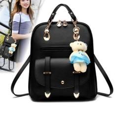 YiLee Fashion Women Girl School PU Leather Shoulder Bag Backpack TravelRucksack Purse - intl Philippines