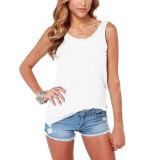 zanzea Women Casual Backless Vest Top (White) XXL - thumbnail 1