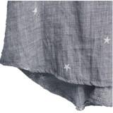 Zanzea Women V Neck Stars 3/4 Sleeve loose Tops (Grey) XXL - thumbnail 2