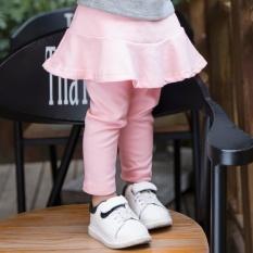 Source · ZIKUF Autumn Girl Pants Fake Two Pieces of Children s Leggings Skirt Pink intl