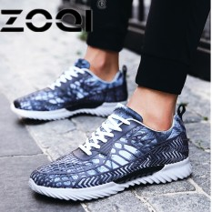 ZOQI Running Shoes Men And Women New Style Breathable Mesh Sneakers Light Sport Outdoor Shoes(