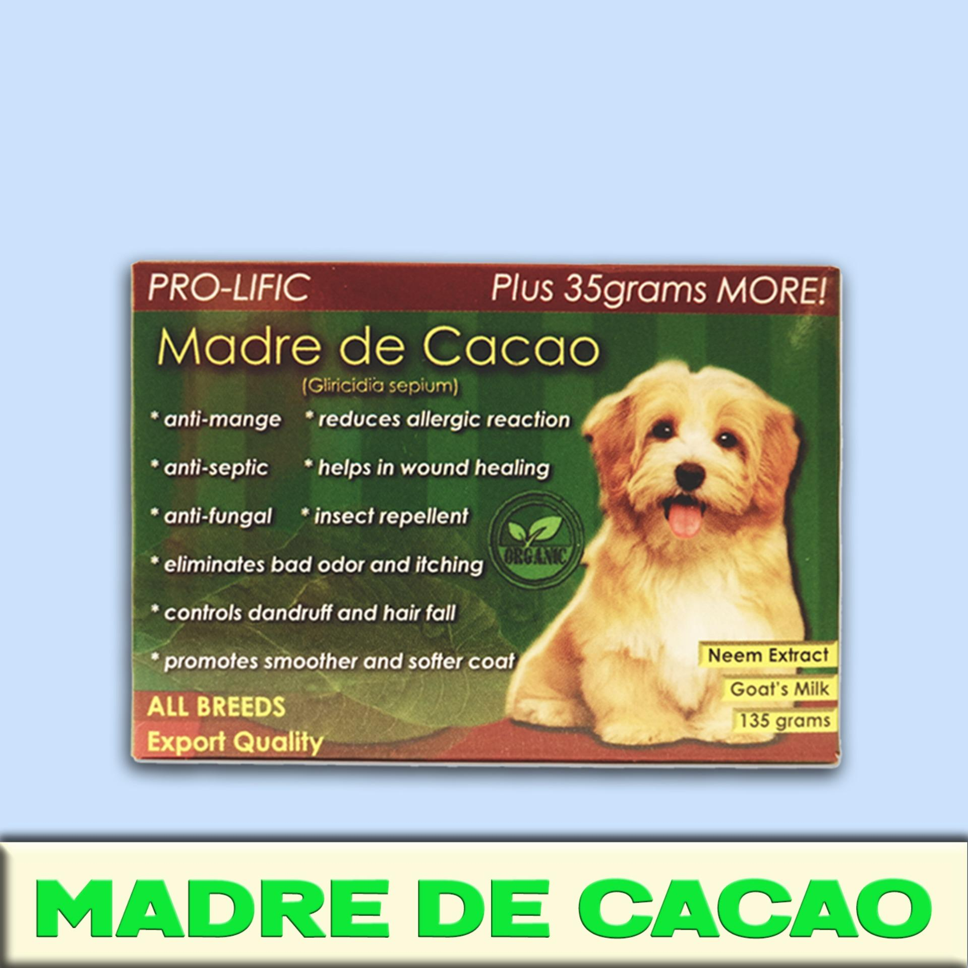 Madre De Cacao Organic Soap For Cat And Dog Prolific 135g Anti Mange And Hotspots, Herbal Germicidal, Anti Redness, Itchiness, Or Allergies By Lkj.