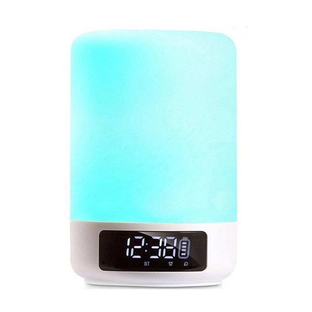 Bluetooth Speaker Lamp Color Changing Lamp Bedside Lamp Touch Control Lamp Rgb & Led Kids Night Light Mode, Music Mood Light Table Lamp,tf Card Music Play, Sleep Mode By Dragonlee.