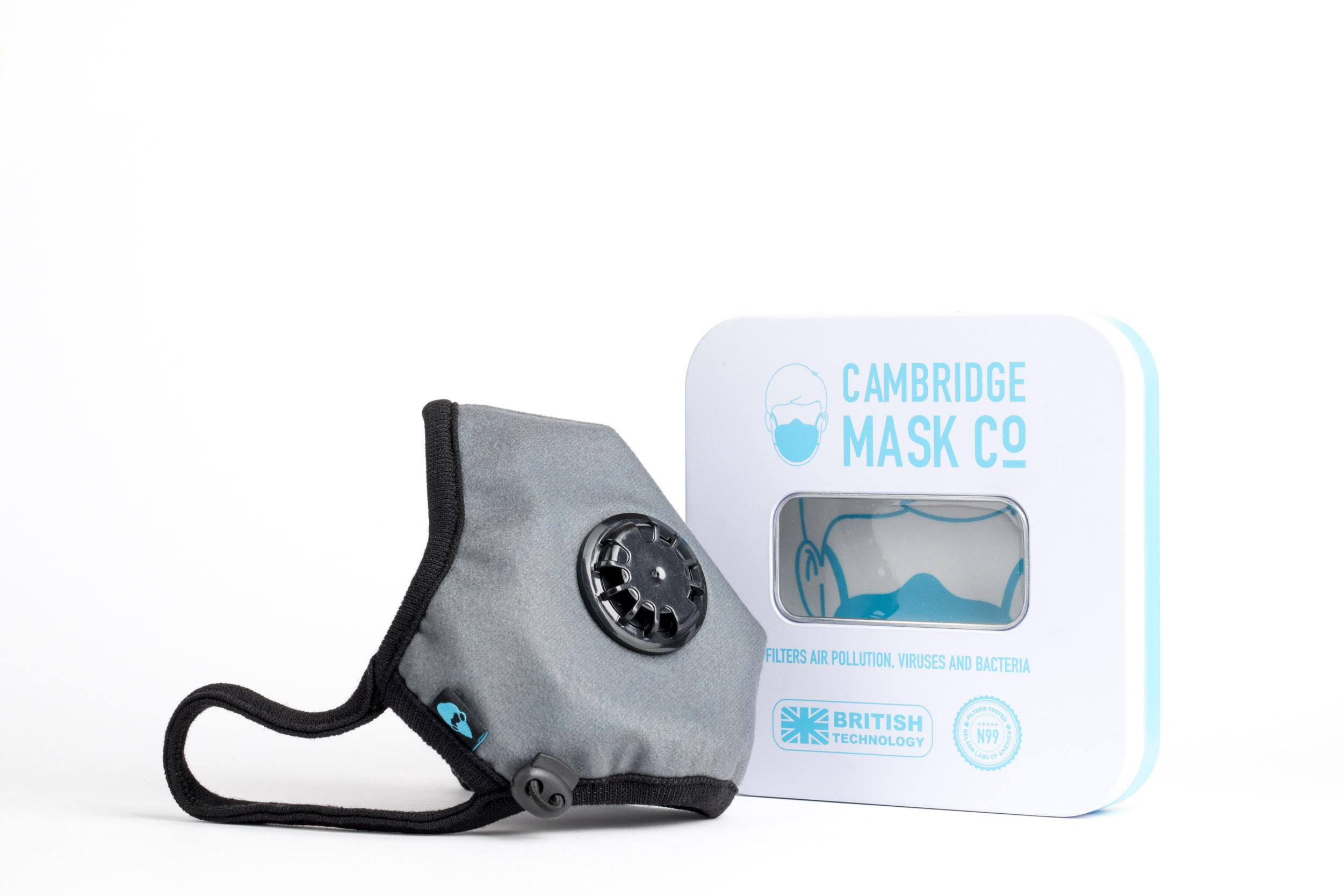 Reusable Pro Dorian Face Medium Mask Filtered Cambridge N99
